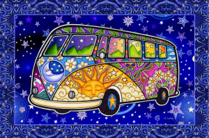 hippie-tourbus